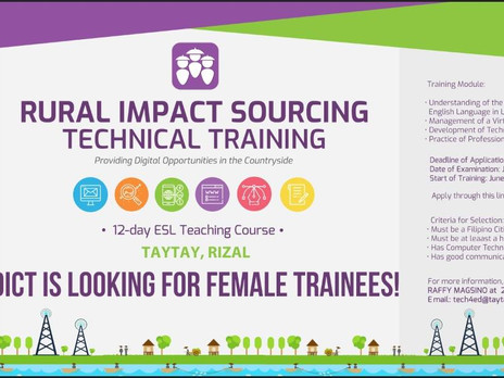 Rural Impact Sourcing Technical Training