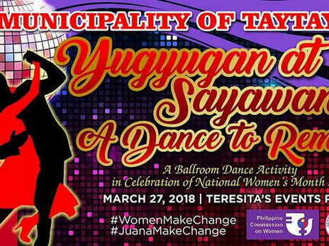 Yugyugan at Sayawan... A Dance To Remember