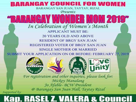 Barangay Wonder Mom