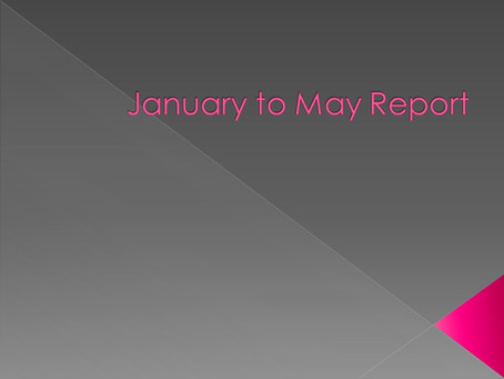 January to May Report 2018