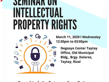 Free Seminar on Intellectual Property Rights