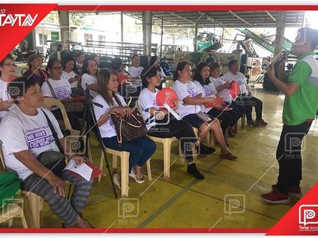 Mobile Baking Demonstration in Barangay San Juan