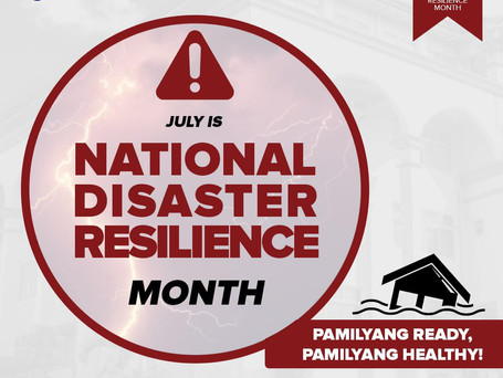 National Disaster Resilience Month 2021