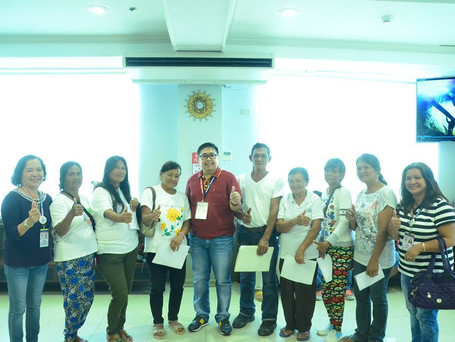Oath-taking of the newly elected officers and members of SAMAHANG MAGGUGULAY NG MITRA.