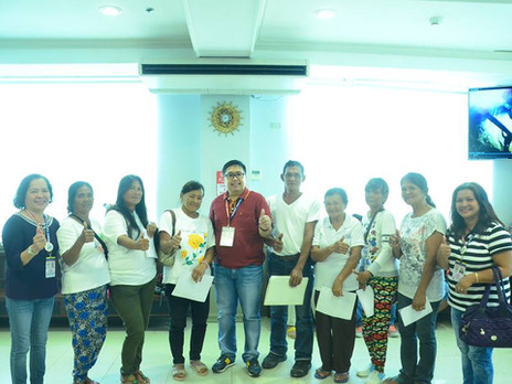 Oath-taking of the newly elected officers and members of SAMAHANG MAGGUGULAY NG MITRA.