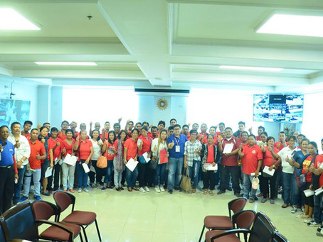 Oath-taking of the newly elected officers and members of MUNICIPAL TASKFORCE LUPANG ARENDA.