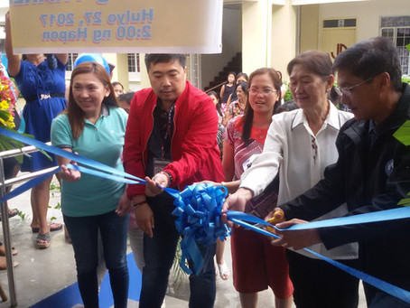 Inauguration & Turnover Ceremony of Bagong Pag-asa Elem. School Annex.