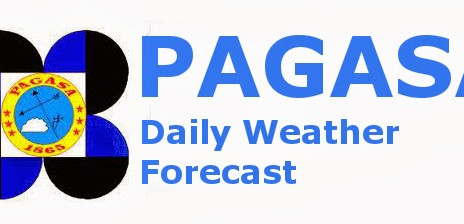 WEATHER UPDATE FROM PAG-ASA