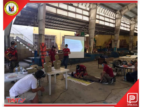 First Aid at Basic Life Support Training