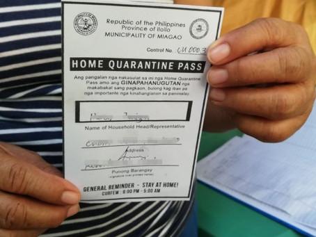New Household Pass