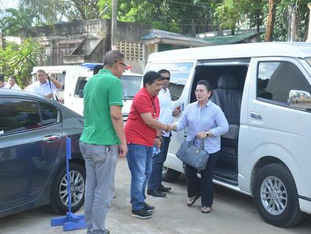 Pagbabasbas at Pagpapasinaya ng Pangpaaralang Gusaling Ynares ng Taytay National High School.