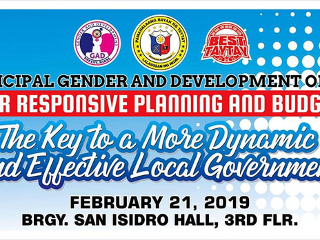 Gender Responsive Planning and Budgeting A Key to a More Dynamic and Effective Local Government