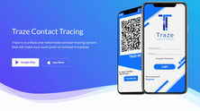 Traze: Contact Tracing Application Program