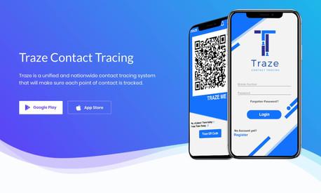 Traze: Contact Tracing Application Program