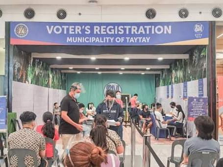 Extension of Voter's Registration