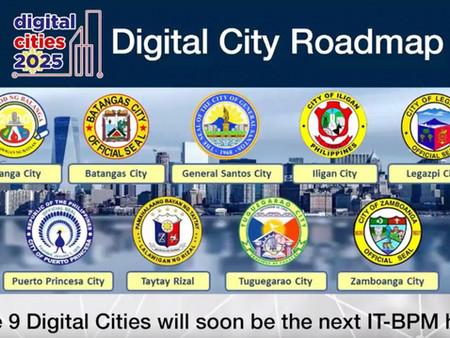 Digital Cities 2025 Road Map