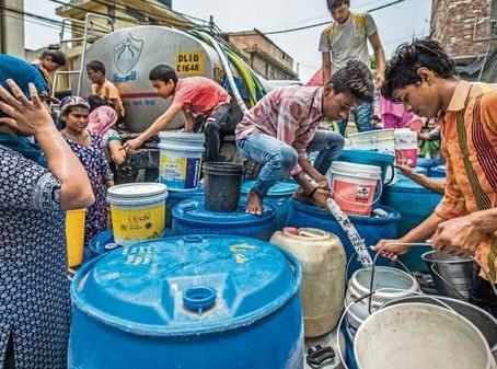 Water Interruption Starts On Wenesday