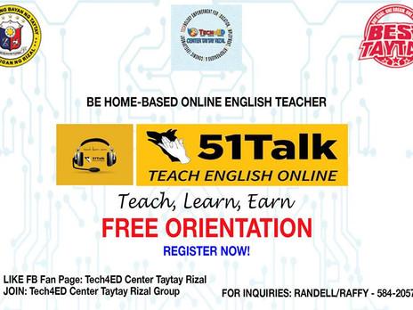 51 Talk Teach English Online