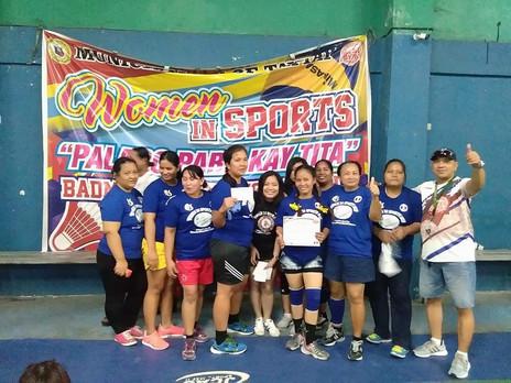 Women in Sports Badminton