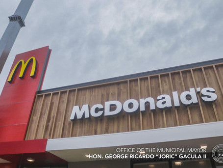 McDonald's Opens Its 5th Branch in Taytay Municipality