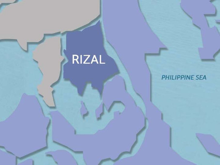 Rizal Province is Now on Lockdown