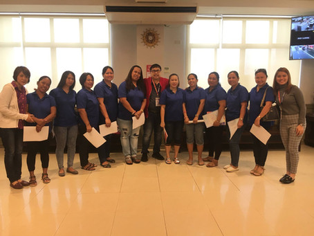 Oath-taking of the newly elected officers and members of SITIO SIMONA ELEMENTARY SCHOOL GPTA 2017-20