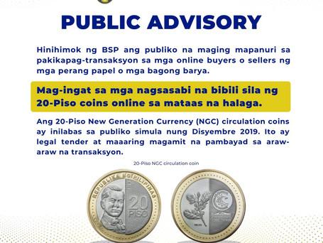 The Central Bank's Public Advisory