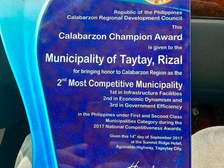CONGRATULATIONS TAYTAY FOR ANOTHER ACHIEVEMENT!!!