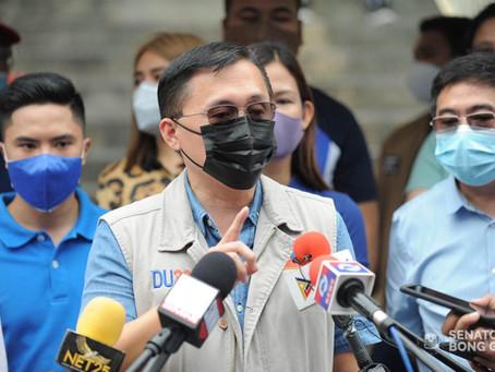 Senator Bong Go Visits Taytay Municipality