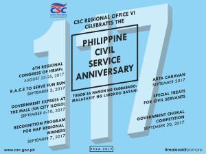 117th Philippine Civil Service Anniversary