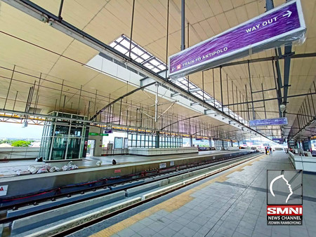 LRT 2's New East Stations To Be Operational By June
