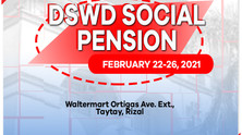 DSWD's Social Pension