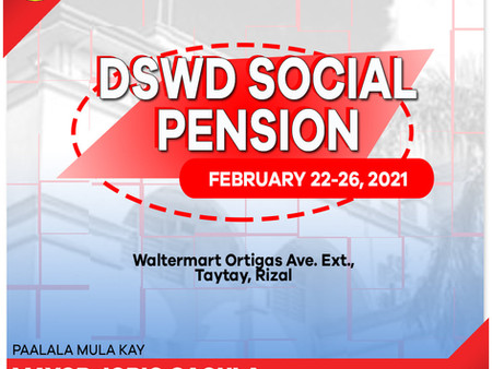 DSWD's Social Pension