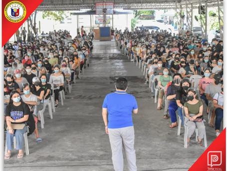 Iskolar ng Bayan's Grants Distribution & Orientation for  Municipal Scholars