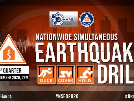3rd Quarter Nationwide Simultaneous Earthquake Drill
