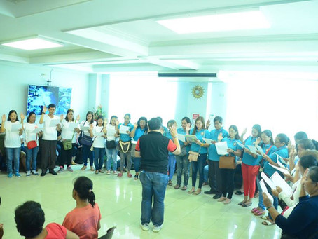 Oath-taking of the newly elected officers and members of Women's Alliance of Purok 6