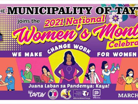 Juana Laban Sa Pandemya: Kaya! National Women's Month Batch Celebration