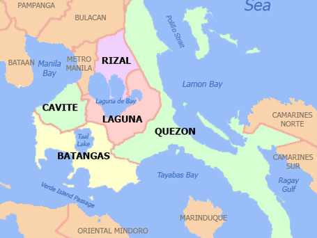 Downgraded COVID Alert Level In CALABARZON
