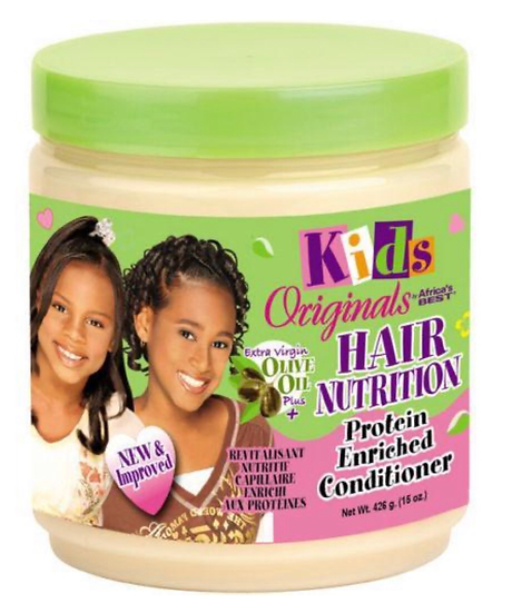 Africa's Best Kids Original HAIR NUTRITION Protein Enriched CONDITIONER 15 Oz