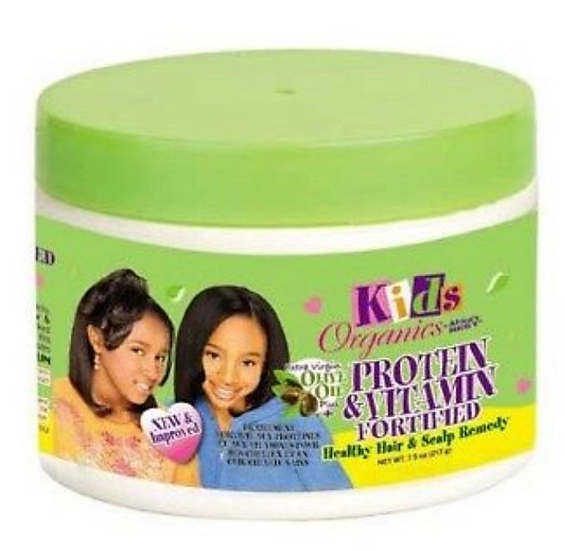 Africa's Best Kids Organics Protein & Vitamin Fortified Healthy Hair & Scalp Rem