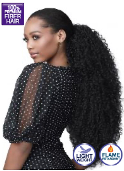 Speedy Updo Natural Jerry Curl