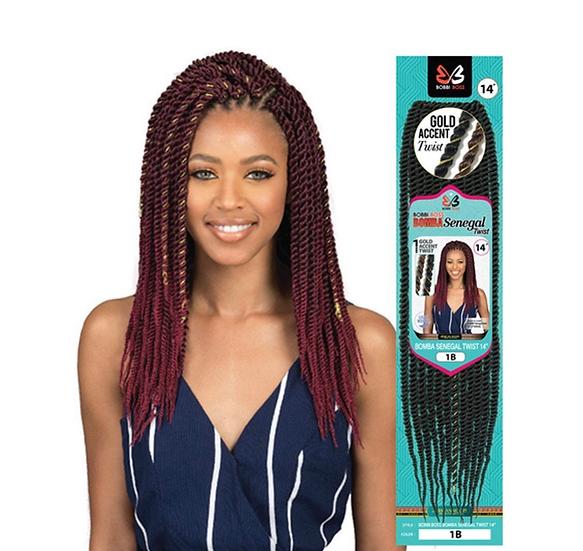 "Bobbi Boss Synthetic Hair Bomba Senegal Twist 14"""