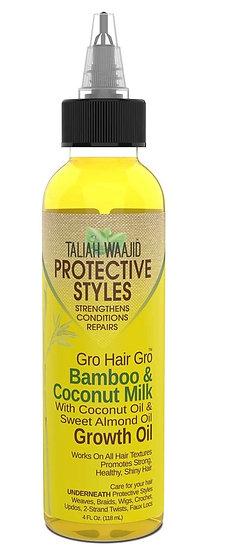 Gro Hair Gro™ Bamboo And Coconut Milk Growth Oil 4oz
