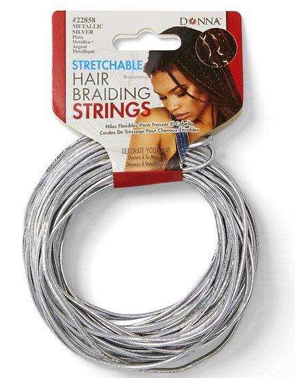 Stretchable Hair Braiding String