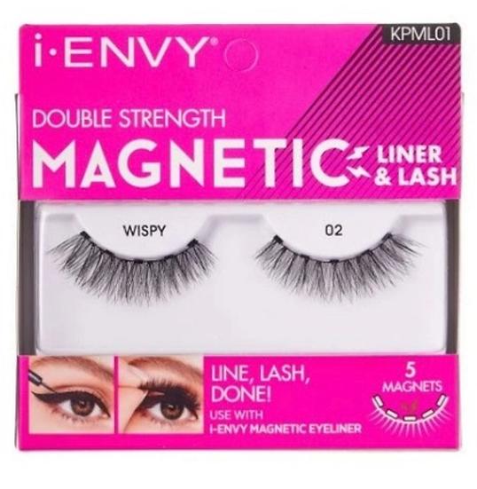 Kiss i Envy Double Strength Magnetic Eyelashes - KPML01