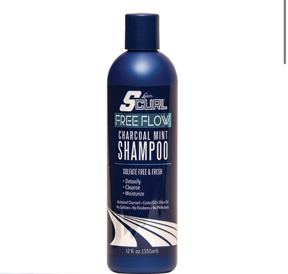 SCurl® Free Flow™ Charcoal Mint Shampoo