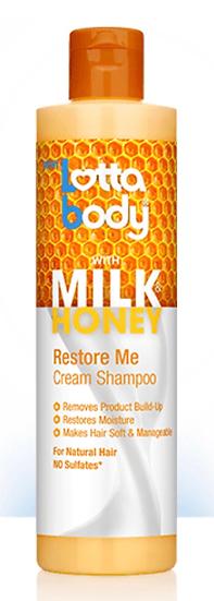 Lottabody Restore Me Cream Shampoo