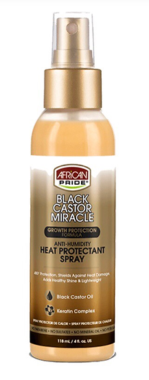 Anti-Humidity Heat Protectant Spray
