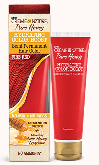 Creme of Nature PURE HONEY HYDRATING COLOR BOOST Semi-Permanent Hair Color
