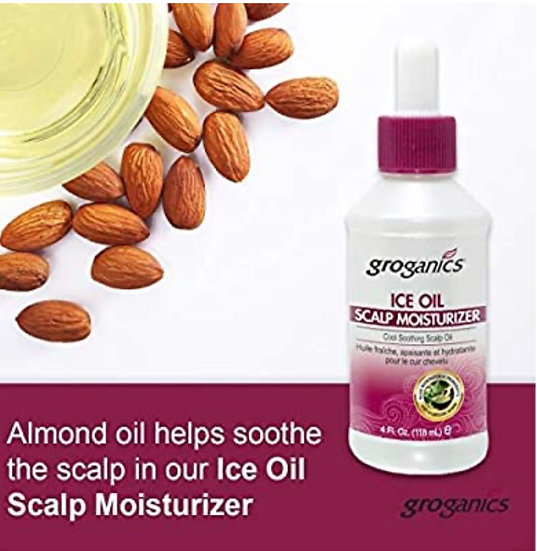 Groganics Ice Oil Scalp Moisturizer 4 oz